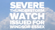 Severe Thunderstorm Watch Ended